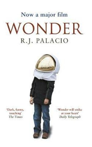 Book called wonder by rj palacio