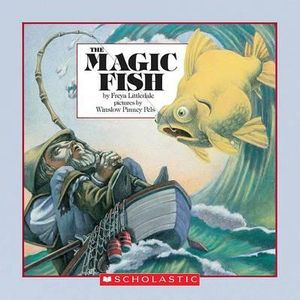 booktopia the magic fish easy to read folktale by freya