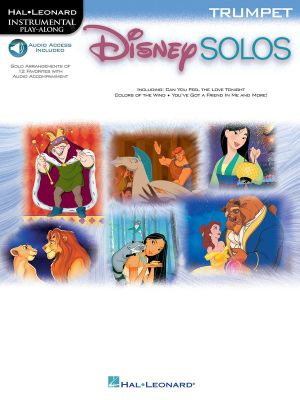Disney Solos: Trumpet Book/CD Pack Hal Leonard Corp.