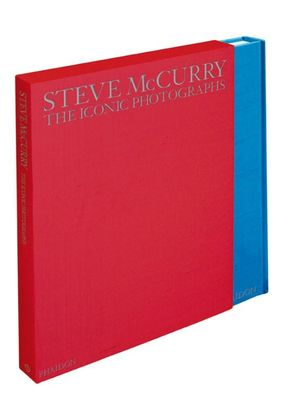 The Iconic Photographs (Limited Edition) : 1 x Extra Large Format Hardcover Book in 1 x Slip Cased Box - Steve McCurry