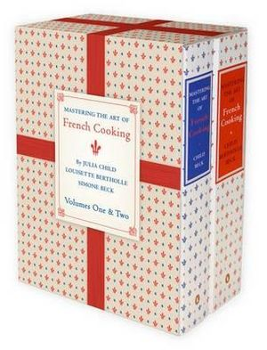 Mastering the Art of French Cooking - 2 x Books in 1 x Slipcased Boxed Set : Volumes 1 and 2 Paperback - Julia Child
