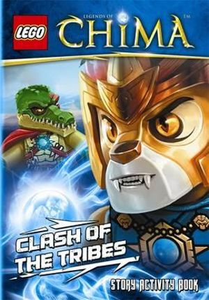 LEGO Legends of Chima : Clash of the Tribes  : Story Activity Book - Ladybird