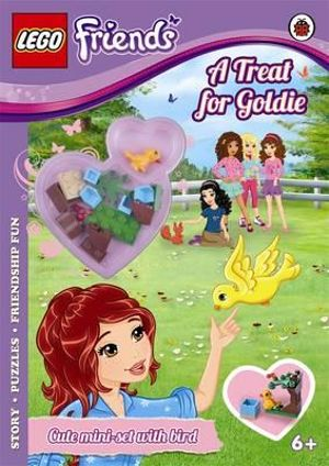 LEGO Friends : A Treat for Goldie Activity Book with Mini-set - Ladybird