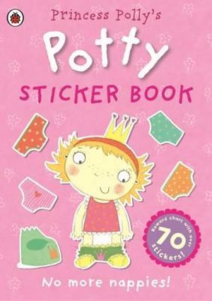 Princess Polly's Potty Sticker Activity Book - Ladybird