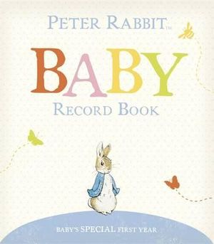 Peter Rabbit Baby Record Book - Beatrix Potter