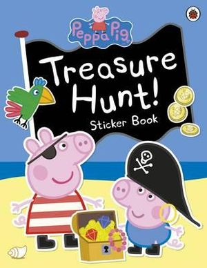 Peppa Pig : Treasure Hunt! Sticker Book - Ladybird