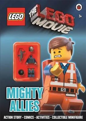 The Lego Movie : Mighty Allies Activity Book with Minifigure - Ladybird