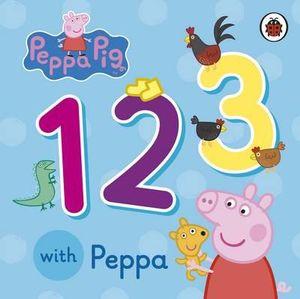 123 with Peppa  : Peppa Pig Series - Ladybird