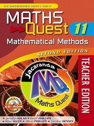 Maths Quest 11 General Mathematics VCE Units 1 and 2 and eBookPLUS + StudyOn VCE G