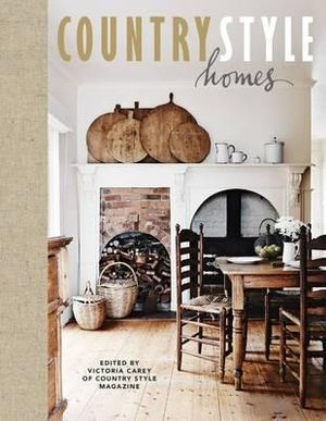 Booktopia country style homes by victoria carey for Big country style homes