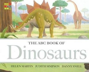 The ABC Book of Dinosaurs - Helen Martin