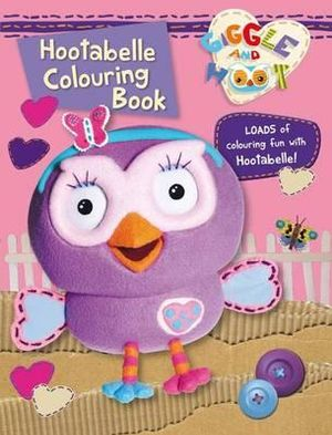Hootabelle Colouring Book - Giggle and Hoot