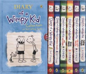 Booktopia Diary Of A Wimpy Kid Box Of Paperback Books 1 Kid Diary