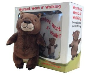 Wombat Went A' Walking : Board Book and Soft Toy - Lachlan Creagh