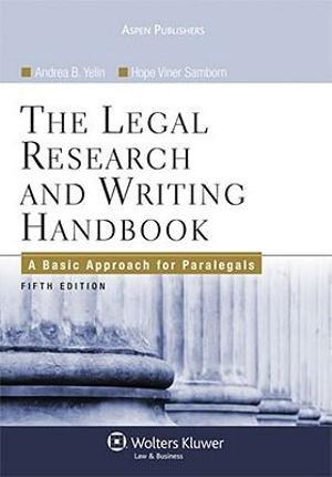 Advanced Legal Research & Writing Certificate ~ ONLINE!