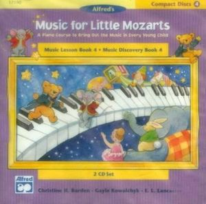 Music for Little Mozarts : Music Lesson Book 4: Music Discovery Book 4 - Gayle Kowalchyk