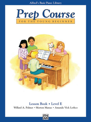 Alfred's Basic Piano Library: Prep Course Lesson Level A Willard Palmer, Morton Manus and Lethco