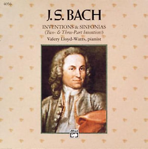 J.S. Bach : Iventions & Sinfonias (Two- & Three-Part Inventions) - Willard Palmer