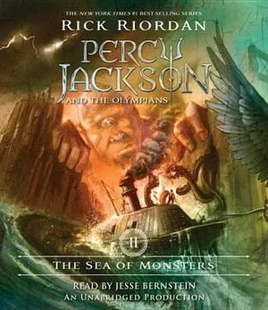 The Sea of Monsters : Percy Jackson & the Olympians - Rick Riordan