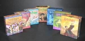 Harry Potter Books 1 to 7 Audio CD Collection (USA EDITIONS) - J K Rowling