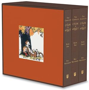 The Complete Calvin and Hobbes Collection - 3 x Large Hardcover Books in 1 x Boxed Set : Three Hardcovers in a Boxed Set - Bill Watterson