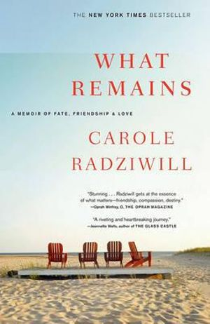 What Remains : A Memoir of Fate, Friendship, and Love - Carole Radziwill