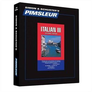 Pimsleur FRENCH III (Level 3) Gold edition, 16 cd comprehensive course Language