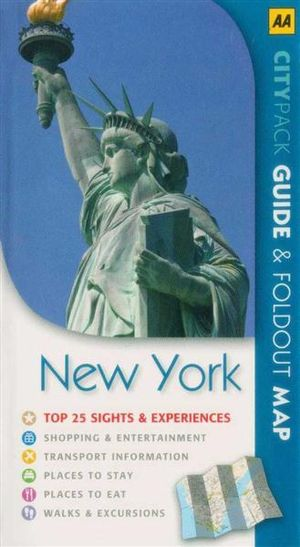 AA CityPack Travel Guide New York City - Kate Sekules