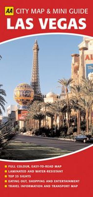 AA City Map & Mini Guide Las Vegas : AA City Maps - AA Publishing