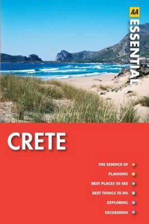 AA Essential Travel Guide Crete  - AA Publishing