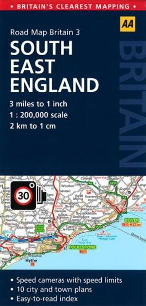 AA Road Map Britain 3 : South East England - AA Publishing