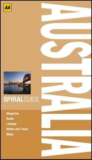 AA Spiral Guide Australia : AA Spiral Guides - AA Publishing