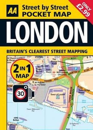 London Pocket Map - AA Publishing