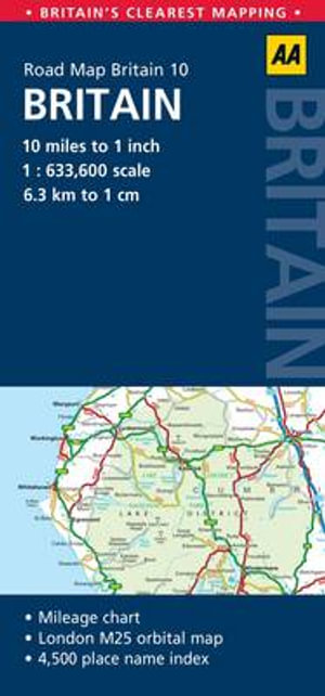 10. Britain : AA Road Map Britain - AA Publishing