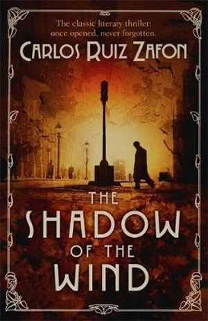 a review of the shadow of the wind a novel by carlos ruiz zafon The shadow of the wind by carlos ruiz zafón, translated by lucia graves 416pp, weidenfeld & nicolson, £1299 in an age of unrelenting austerity, any touch of luxury can stir the soul a.