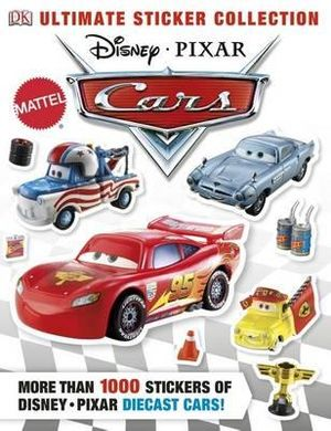 Disney pixar cars ultimate sticker collection more than 1000