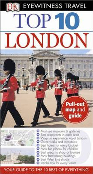 Top 10 London DK Eyewitness : Pull-out Map & Guide - Roger Williams