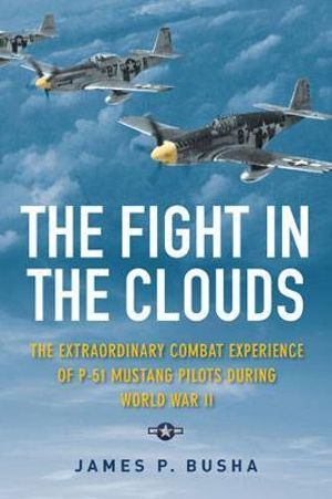 The Fight in the Clouds : The Extraordinary Combat Experience of P-51 Mustang Pilots During World War II - James P. Busha