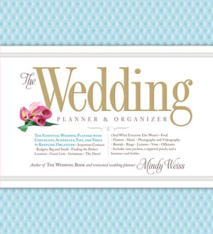 product mindy weiss wedding planner organizer