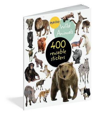 Eyelike Stickers : Wild Animals - Workman Publishing