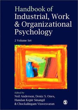 handbook of industrial and organizational psychology