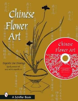 Chinese Flower Art : Line Drawings - Tina Skinner