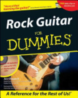 Rock Guitar For Dummies With CDROM : For Dummies - Jon Chappell