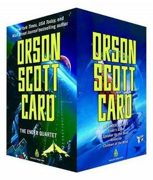 The Ender Quartet Boxed Set : Ender's Game, Speaker for the Dead, Xenocide, Children of the Mind - Orson Scott Card