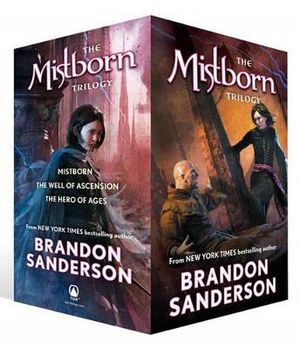 The Mistborn Trilogy Boxed Set  : Mistborn, The Well of Ascension, The Hero of Ages - Brandon Sanderson
