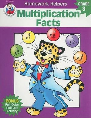 Multiplication Facts, Homework Helpers, Grade 3 - Dee Andrews