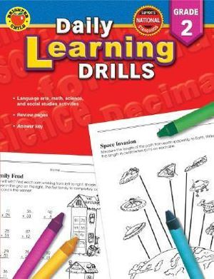 Daily Learning Drills Grade K Brighter Child and Vincent Douglas