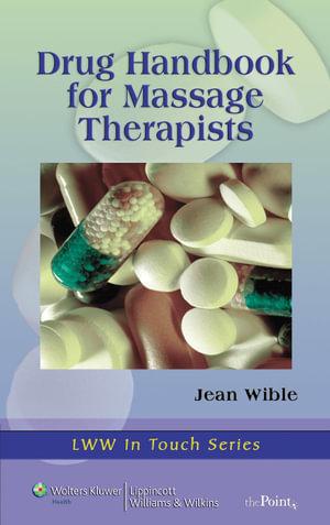 DRUG HANDBOOK FOR MASSAGE THERAPIST