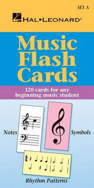 Music Flash Cards - Set a : Hal Leonard Student Piano Library - And Jeff Schroedl Blake