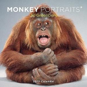 Monkey Portraits 2012 Wall Calendar - Jill Greenberg